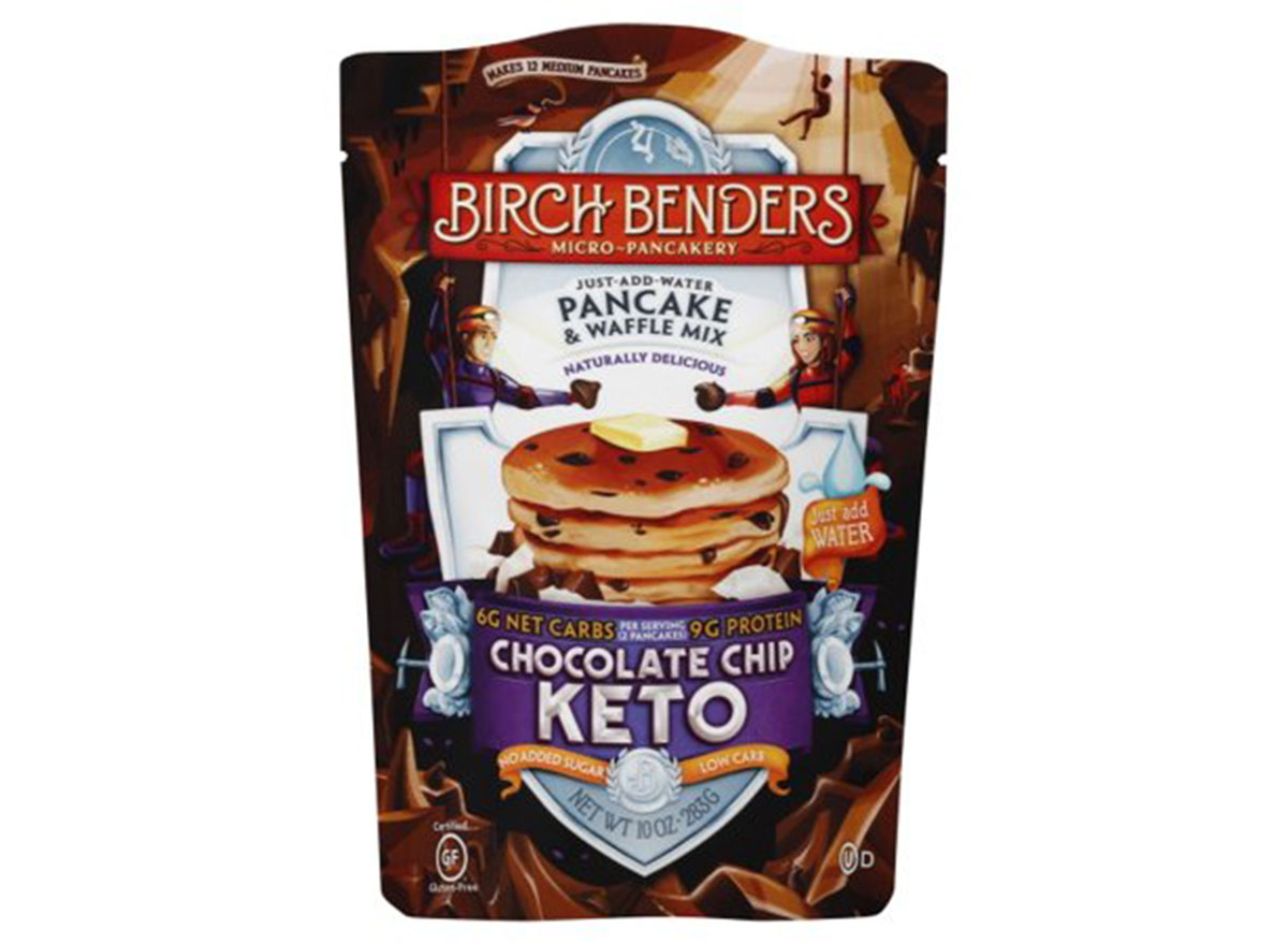 birch benders keto chocolate chip pancakes