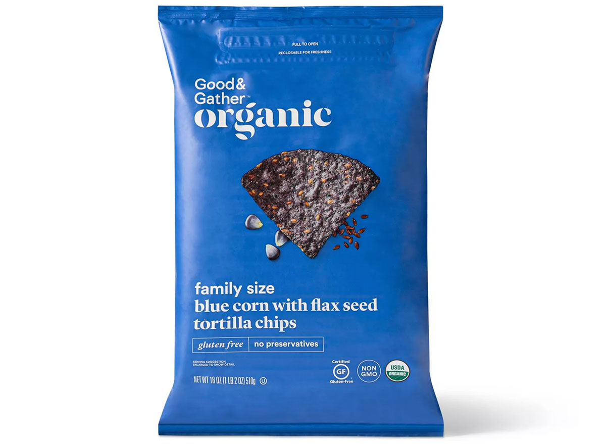 good and gather blue corn chips