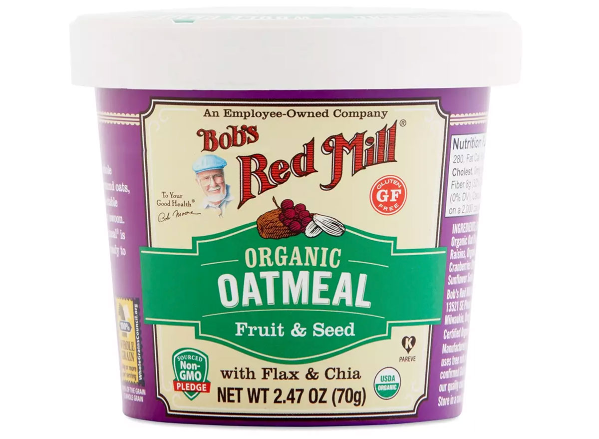 bobs red mill oatmeal cups
