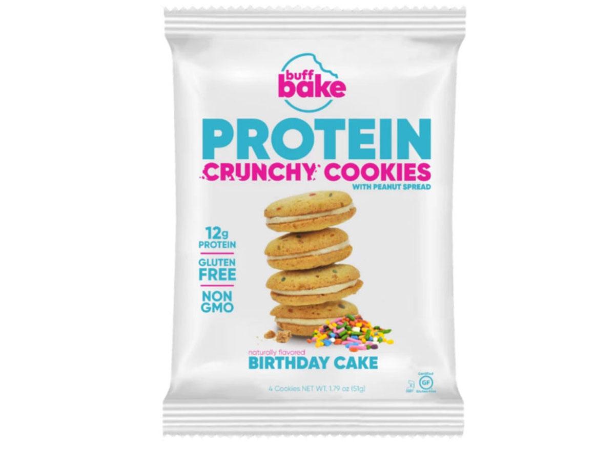 buff bake protein crunchy cookies
