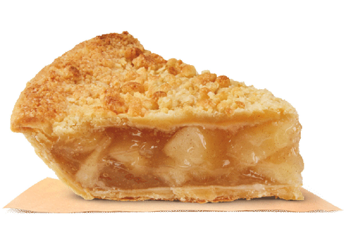 burger king dutch apple pie