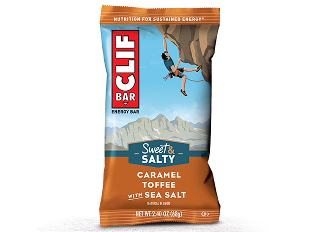 caramel toffee clif bar