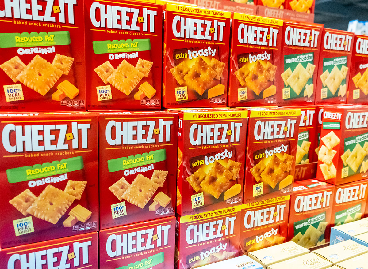 cheez-its variety