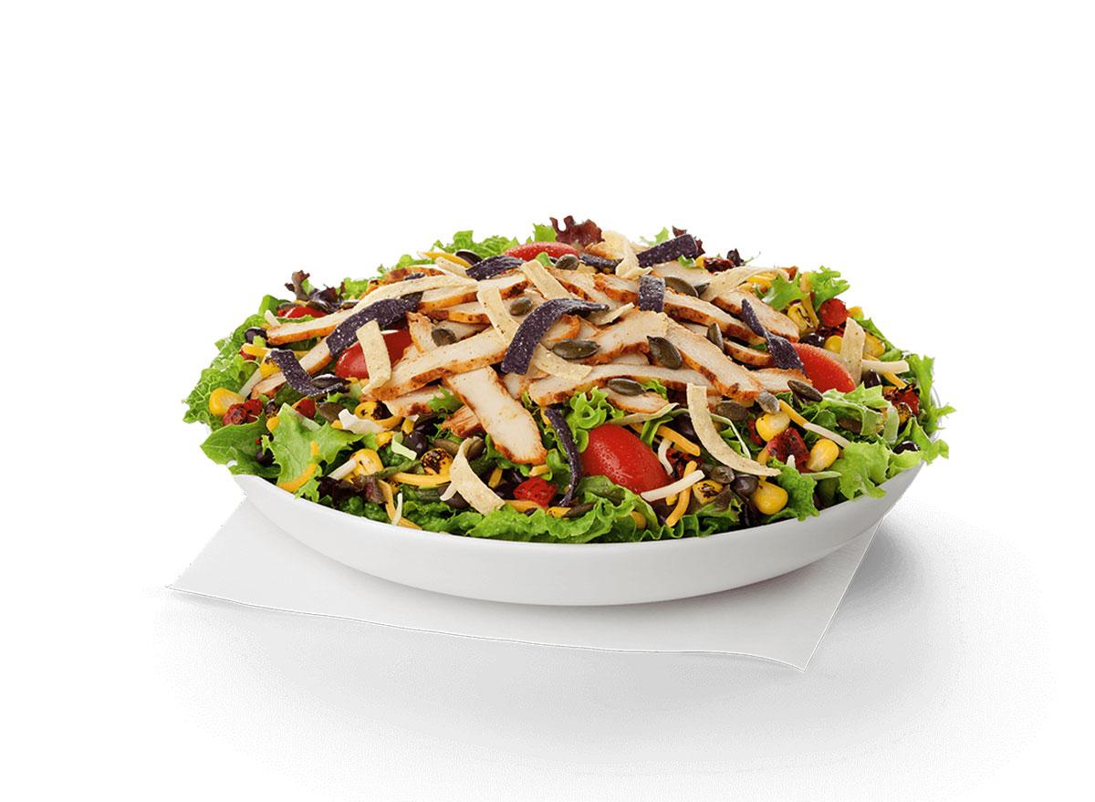 chick fil a southwest salad