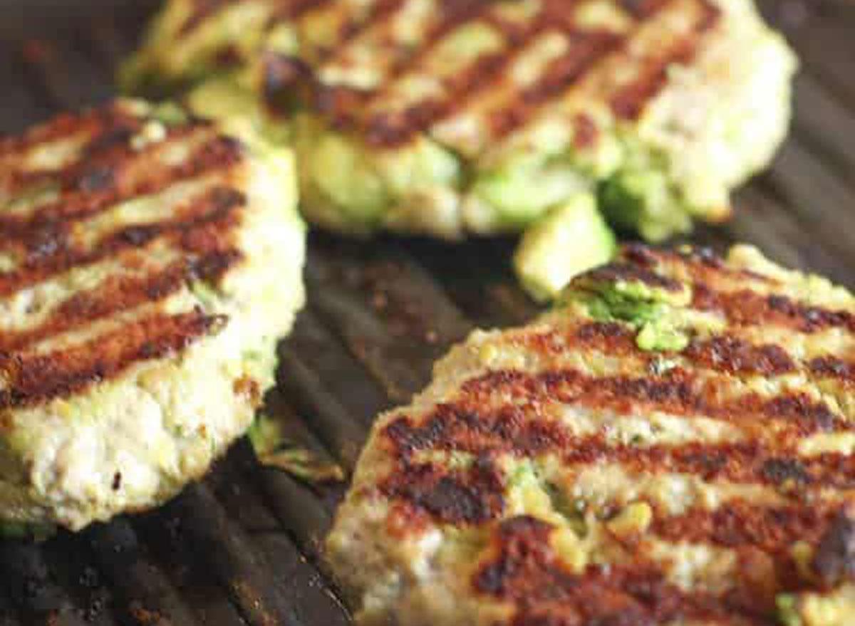 ground chicken recipes chicken avocado burgers