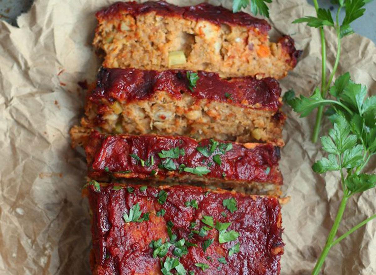 chickpea vegan meatloaf