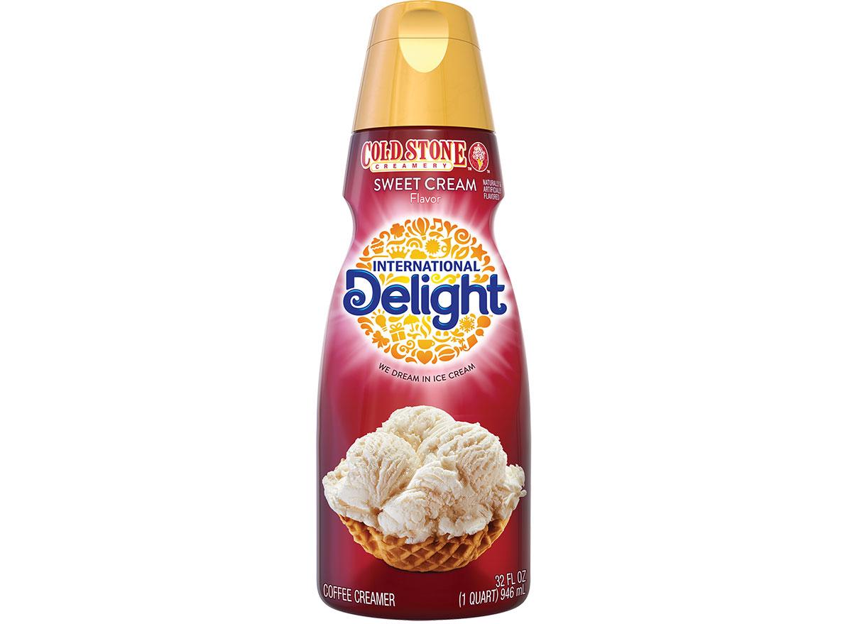 cold stone sweet cream capricorn