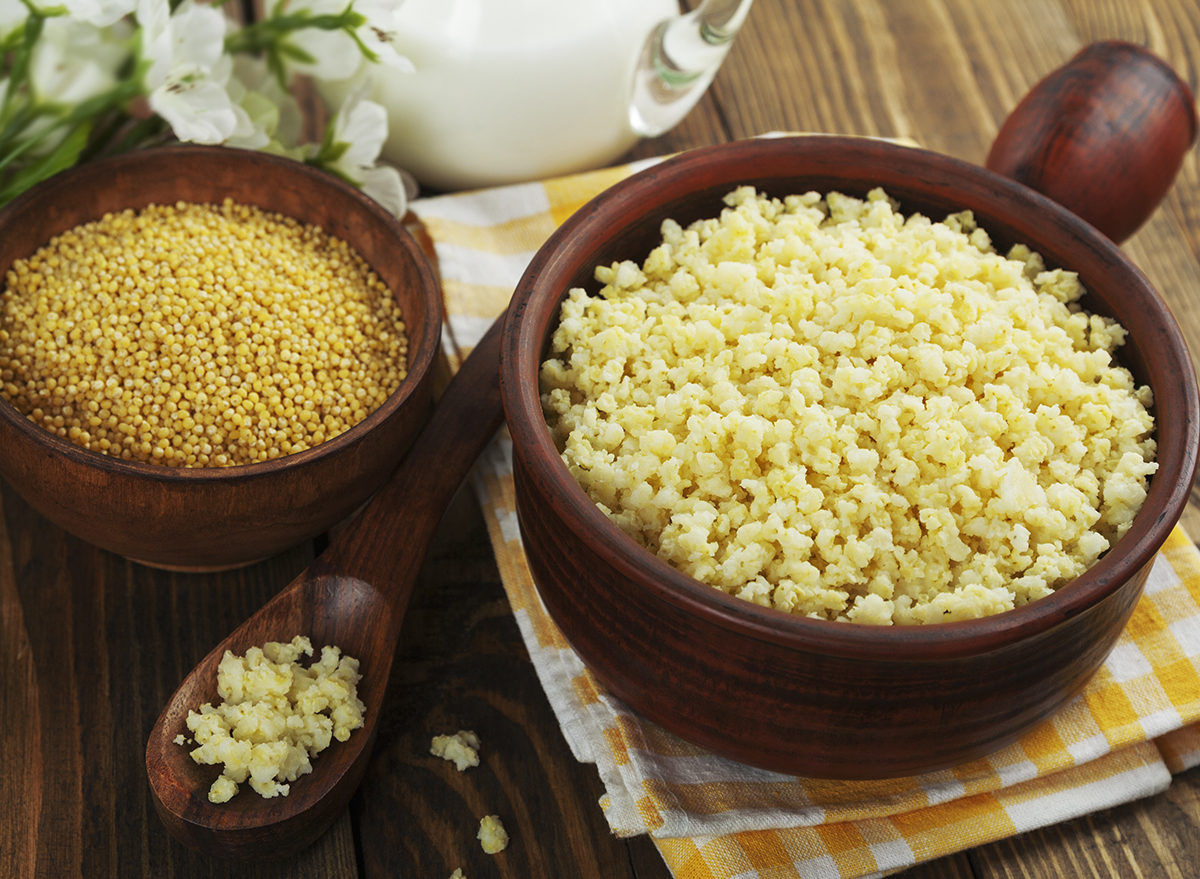 cooked millet