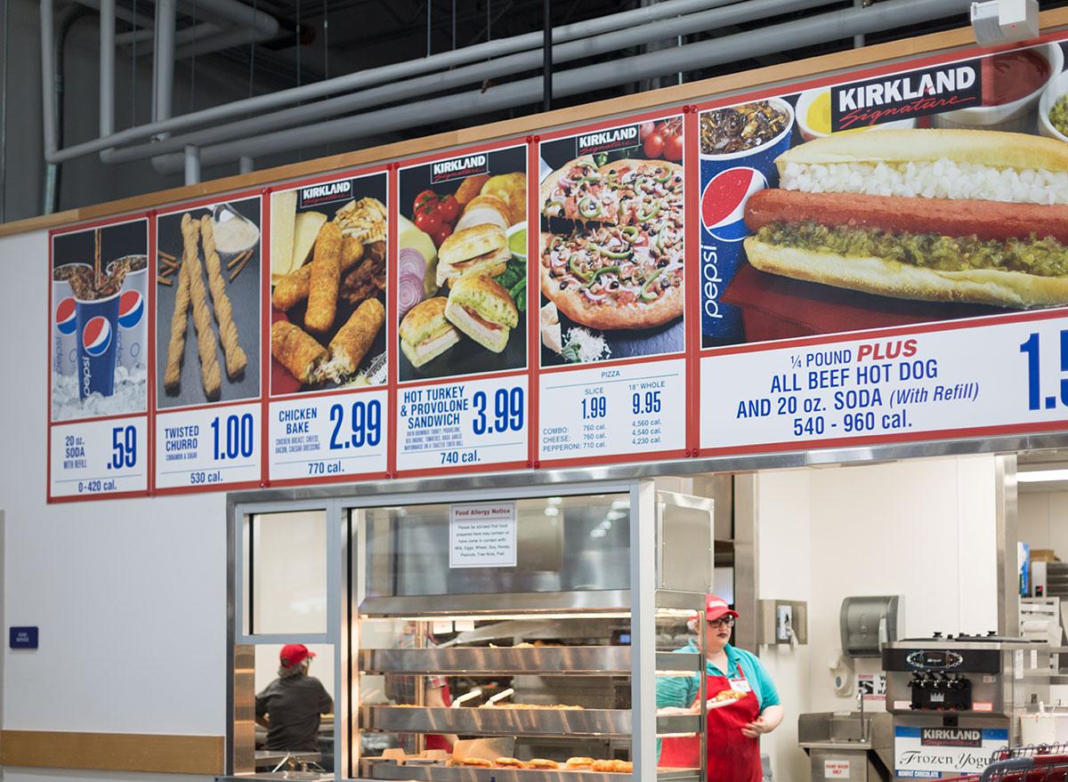 costco food court
