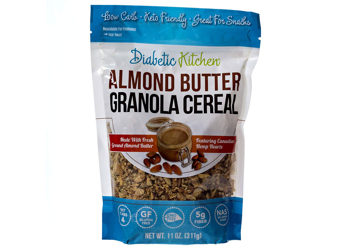 Diabetic Kitchen Almond Butter Granola Cereal
