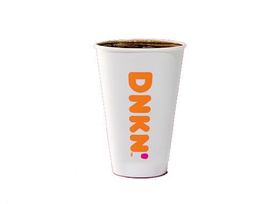 dunkin black coffee