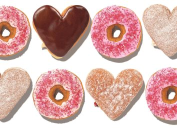 dunkin valentines day donuts