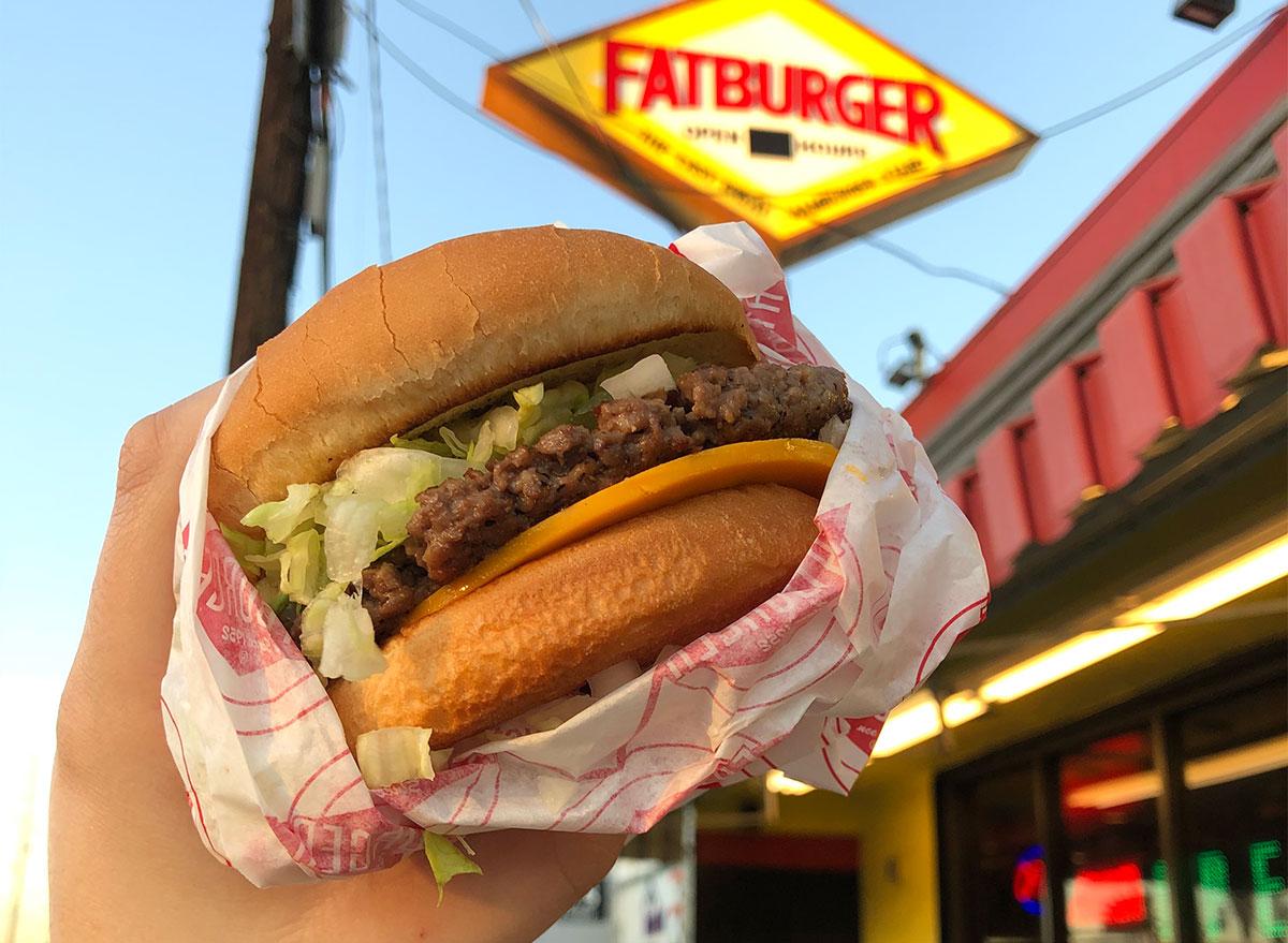 fatburger impossible burger