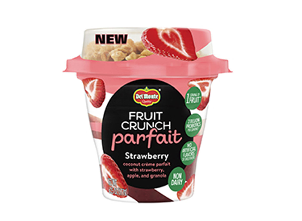fruit crunch parfait