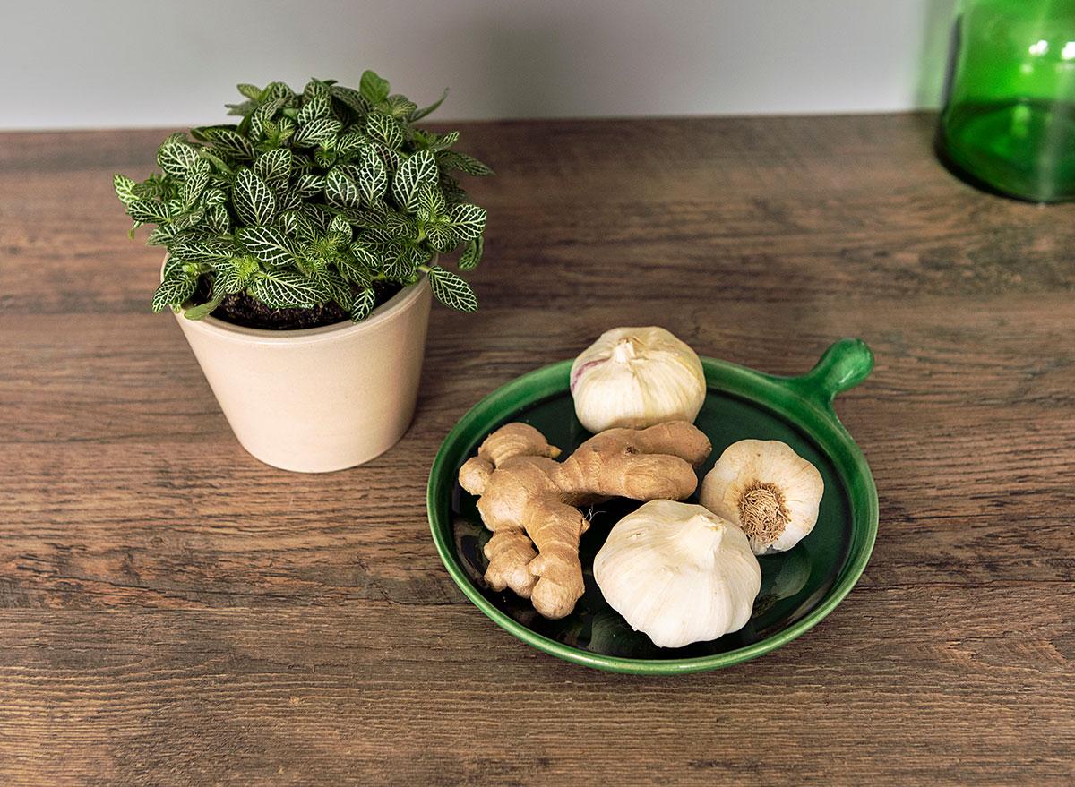 garlic and ginger