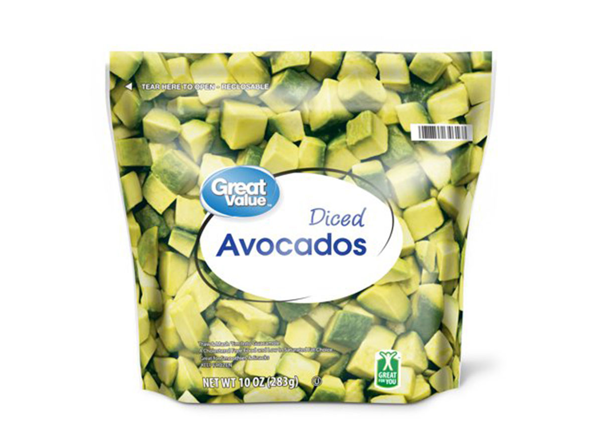great value diced avocado