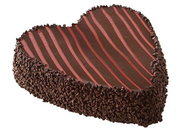 heart shaped juniors cheesecake