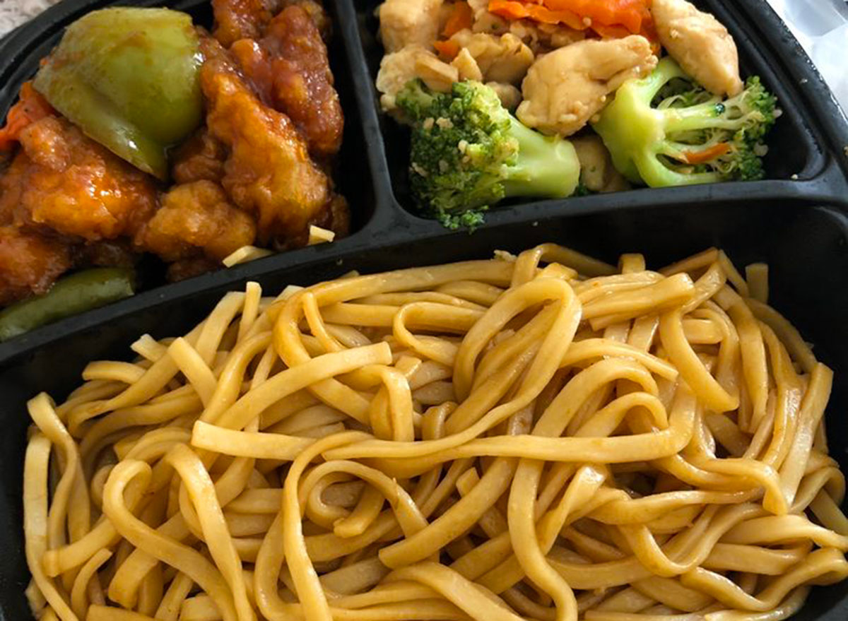 hyvee chinese food