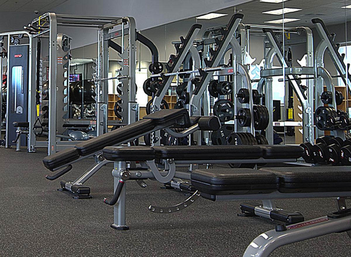 hyvee fitness center
