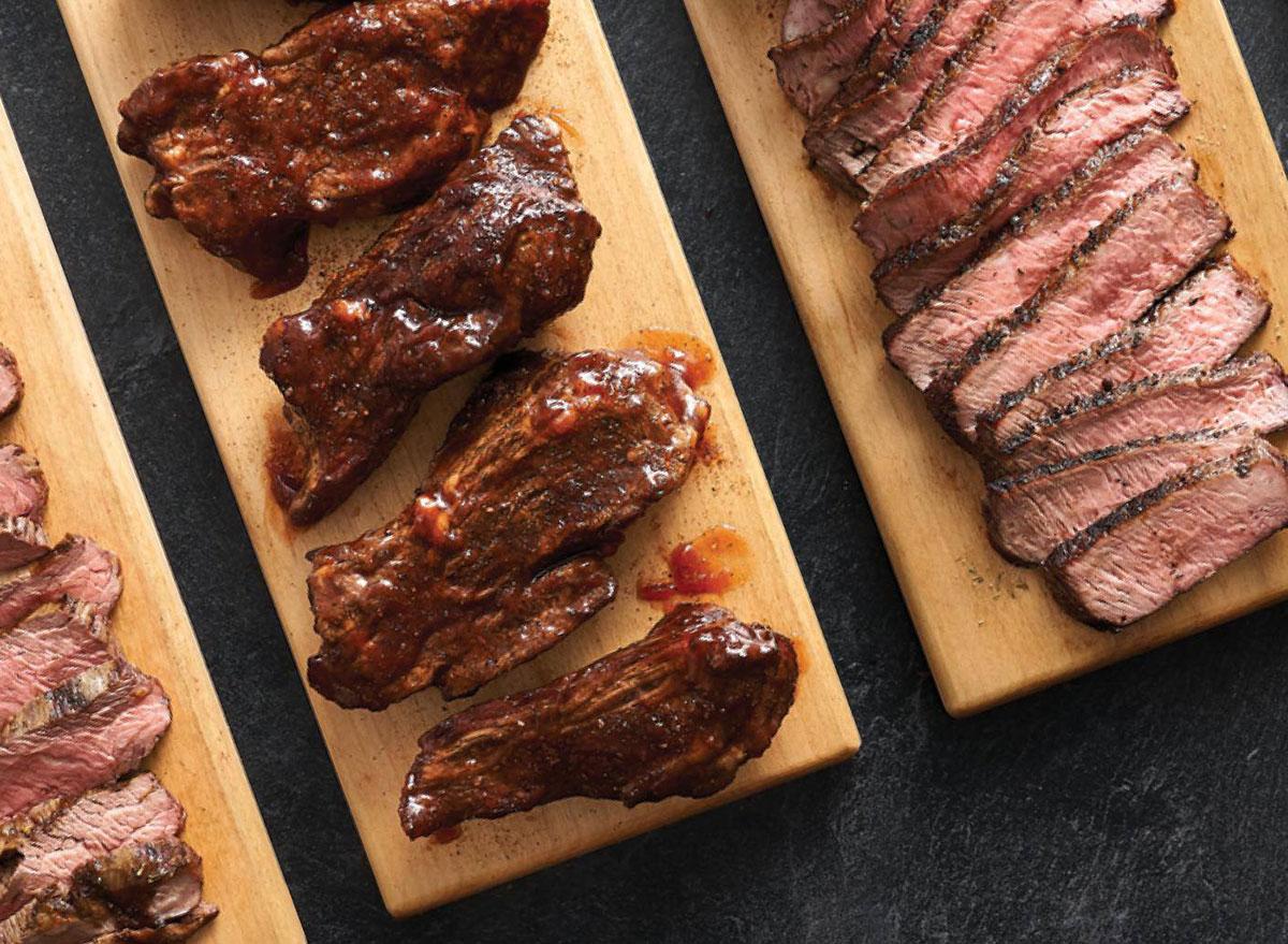 hyvee steak dinner