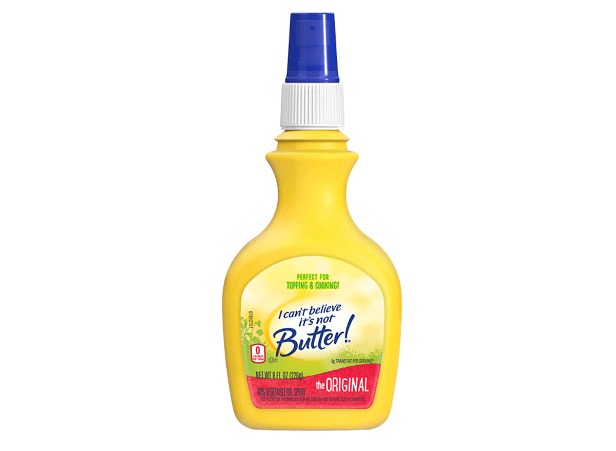 i can't believe it's not butter spray