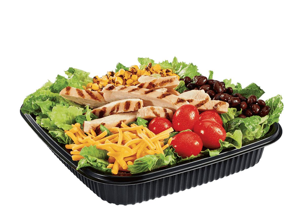 jack in the box southwest chicken salad