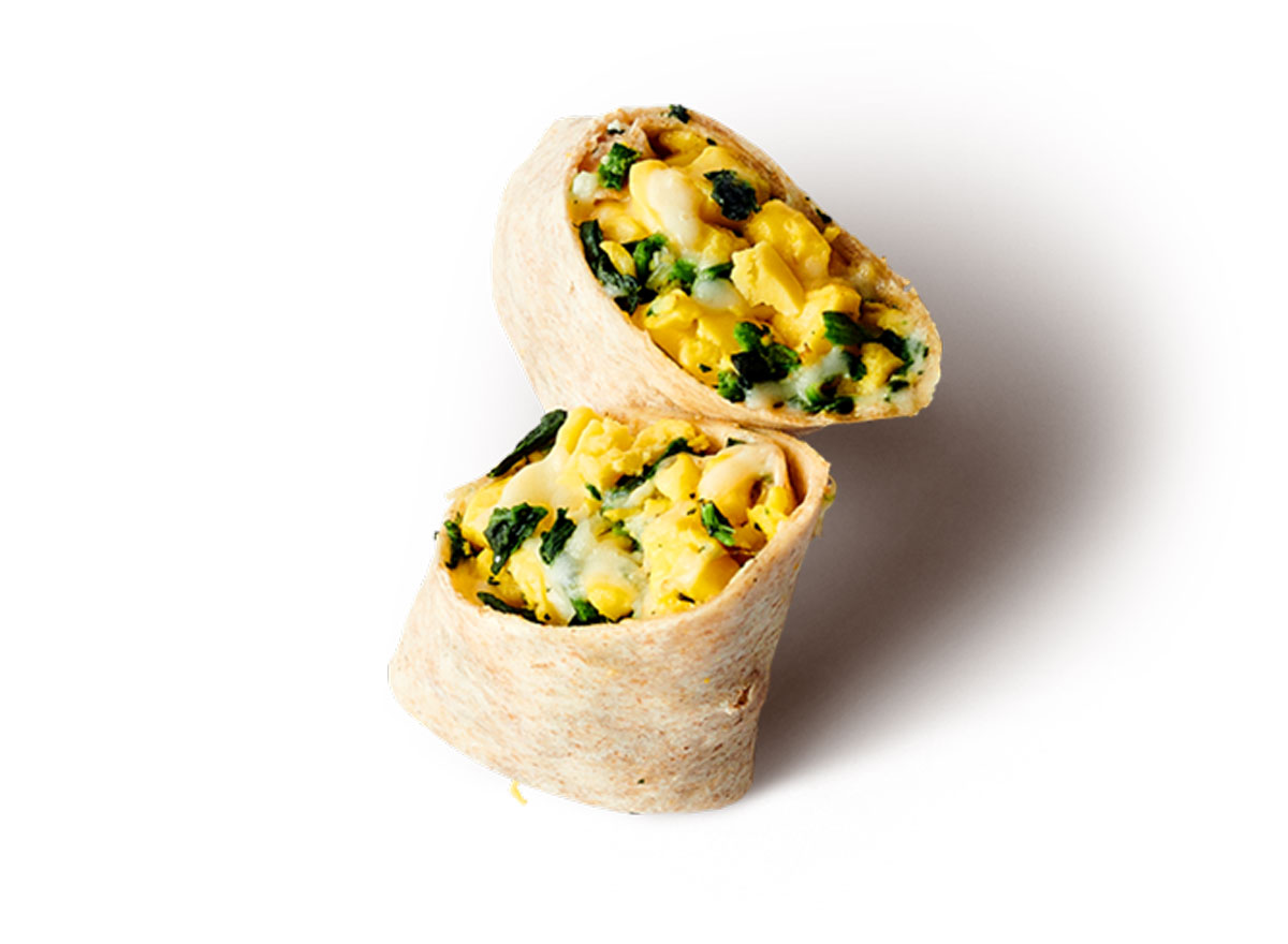 jamba juice Spinach and Cheese Breakfast Wrap