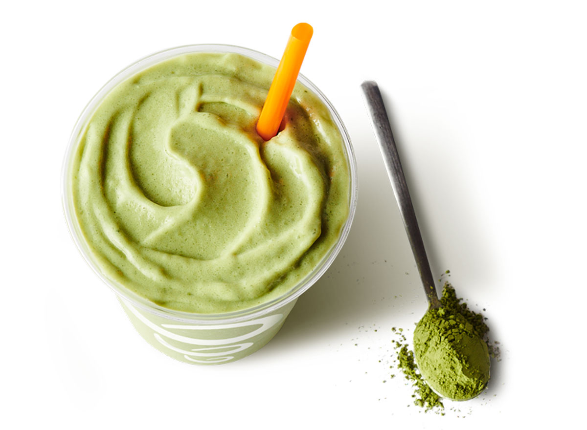 Matcha Green Tea Blast smoothie