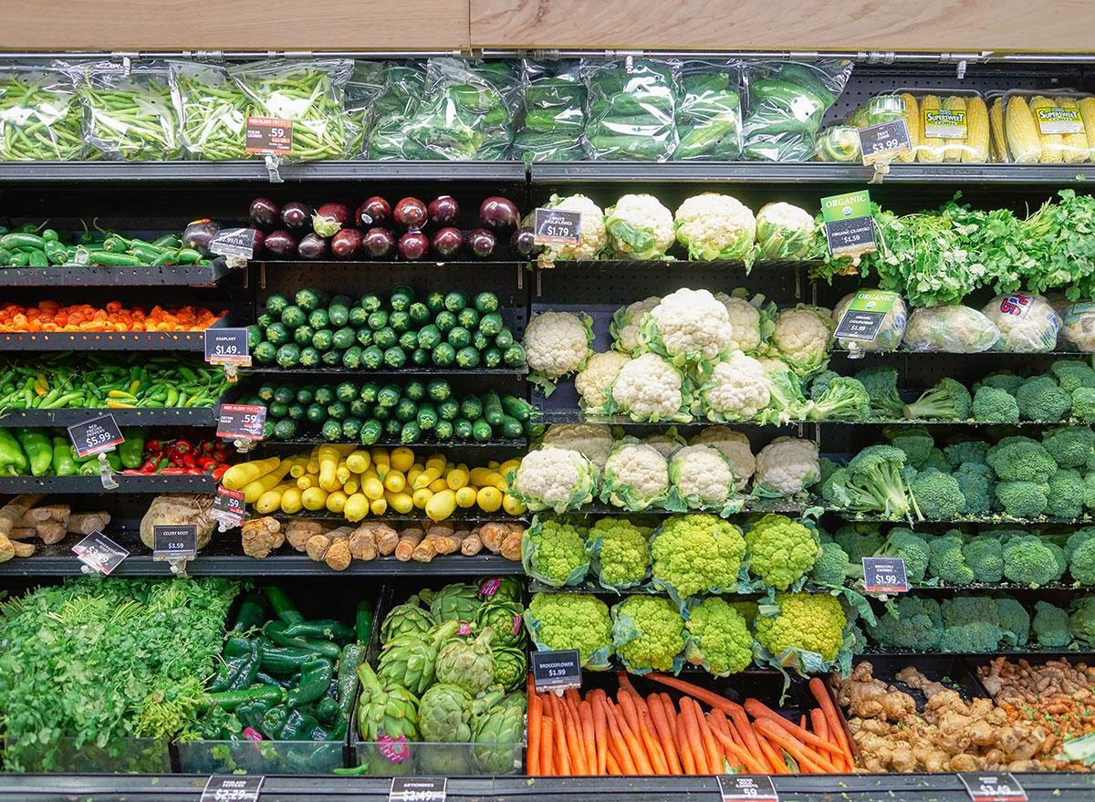 jewel osco vegetables