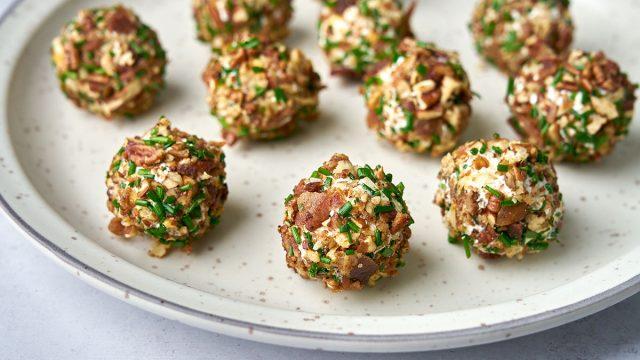 keto pincho ranch cheese balls