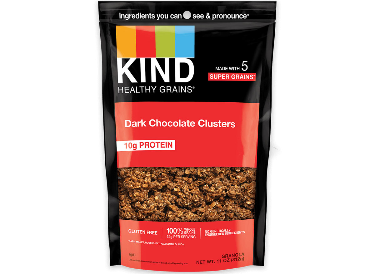 Kind granola dark chocolate clusters