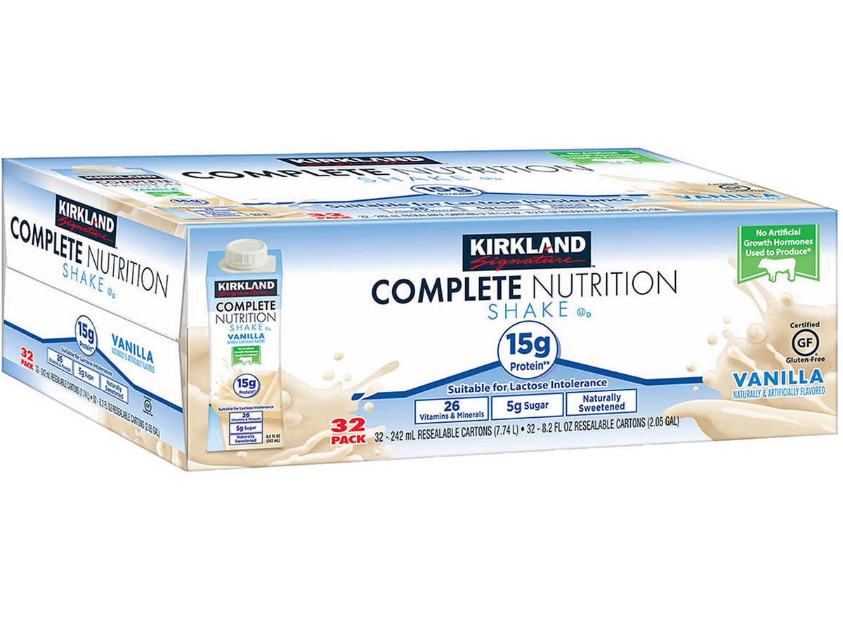 kirkland complete nutrition shake