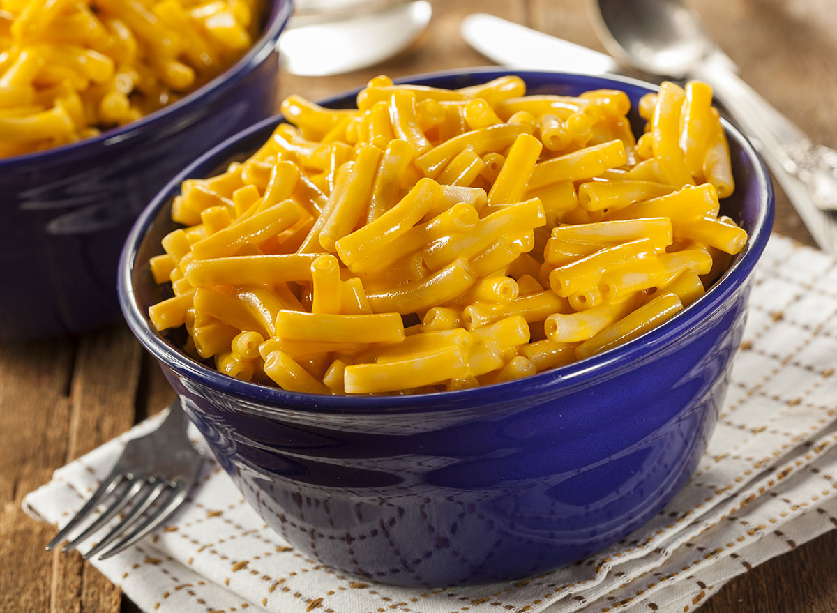 mac and cheese from a box