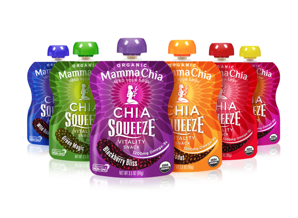 mamma chia squeeze packet