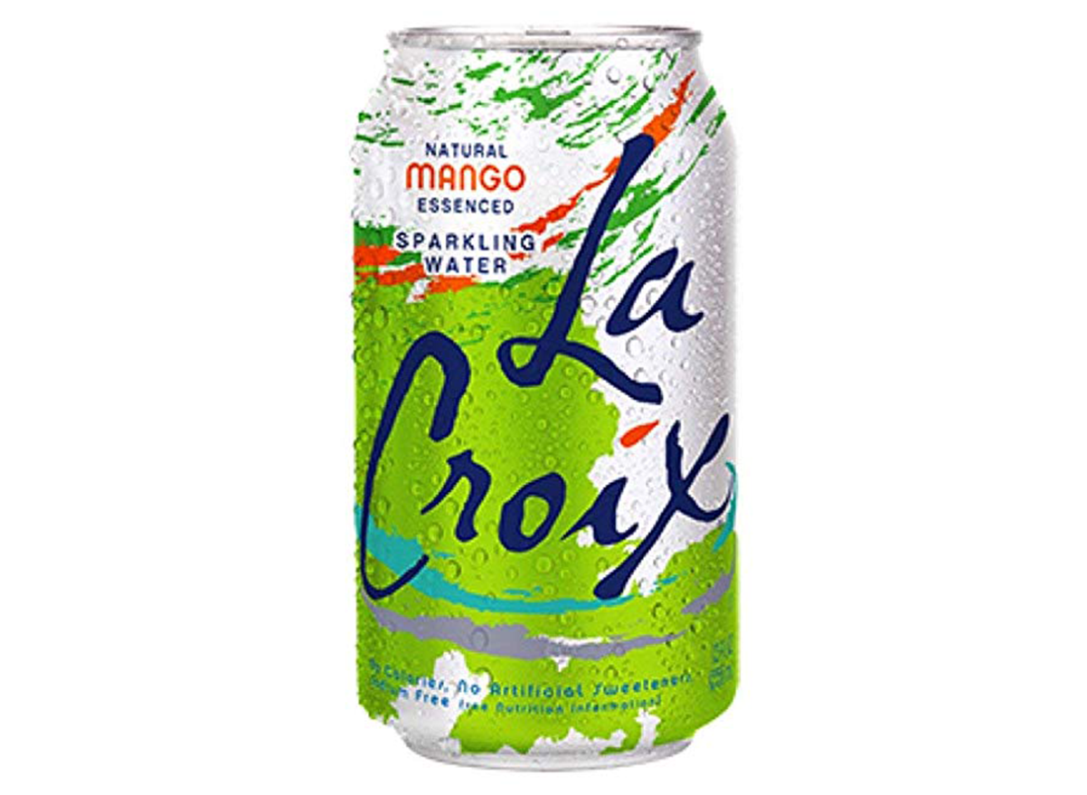 La Croix Mango Sparkling Water