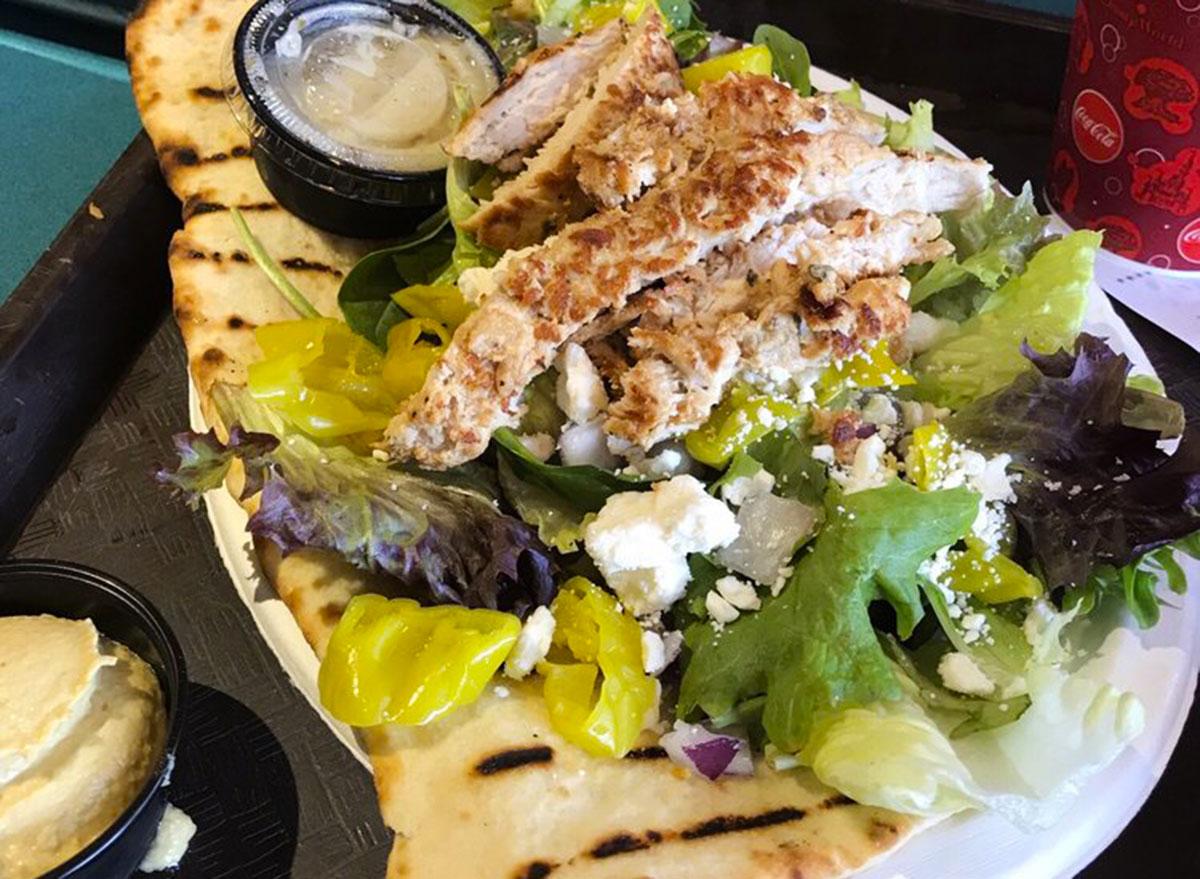 disney world healthy meals mediterranean salad