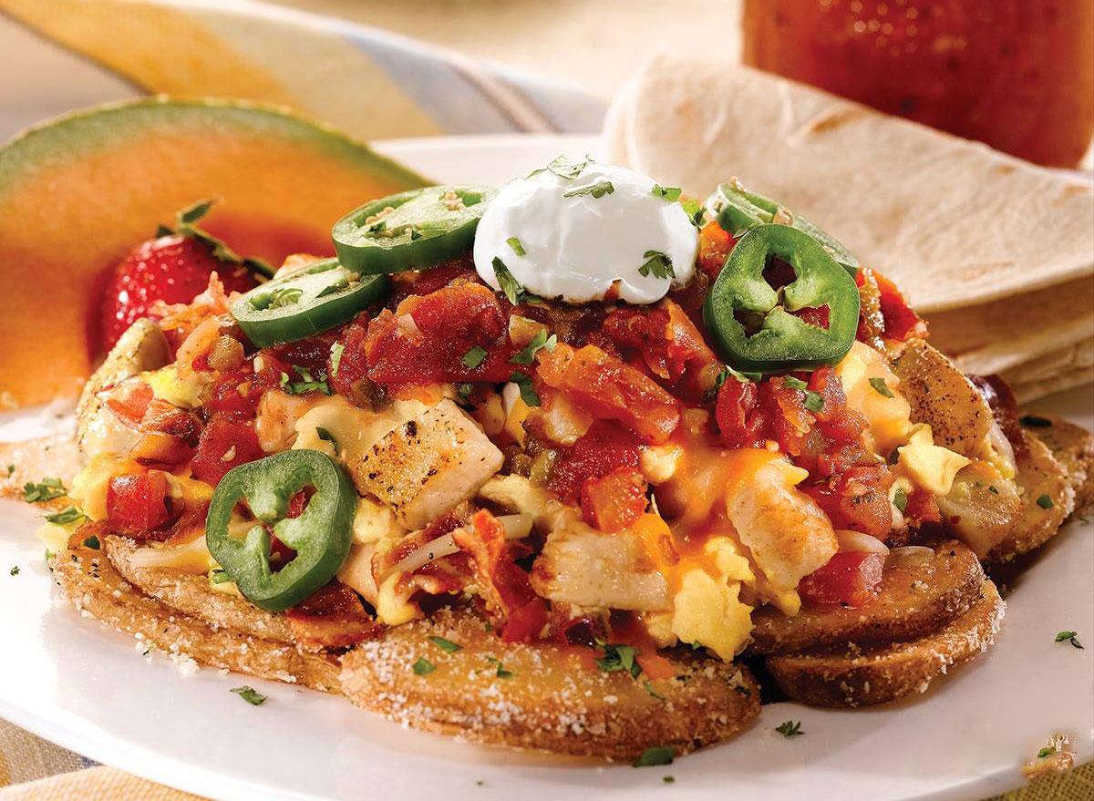 ocharleys deconstructed breakfast taco