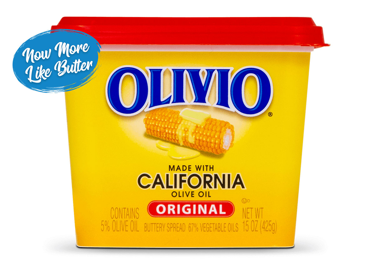 olivio olive oil healthy butter substitute