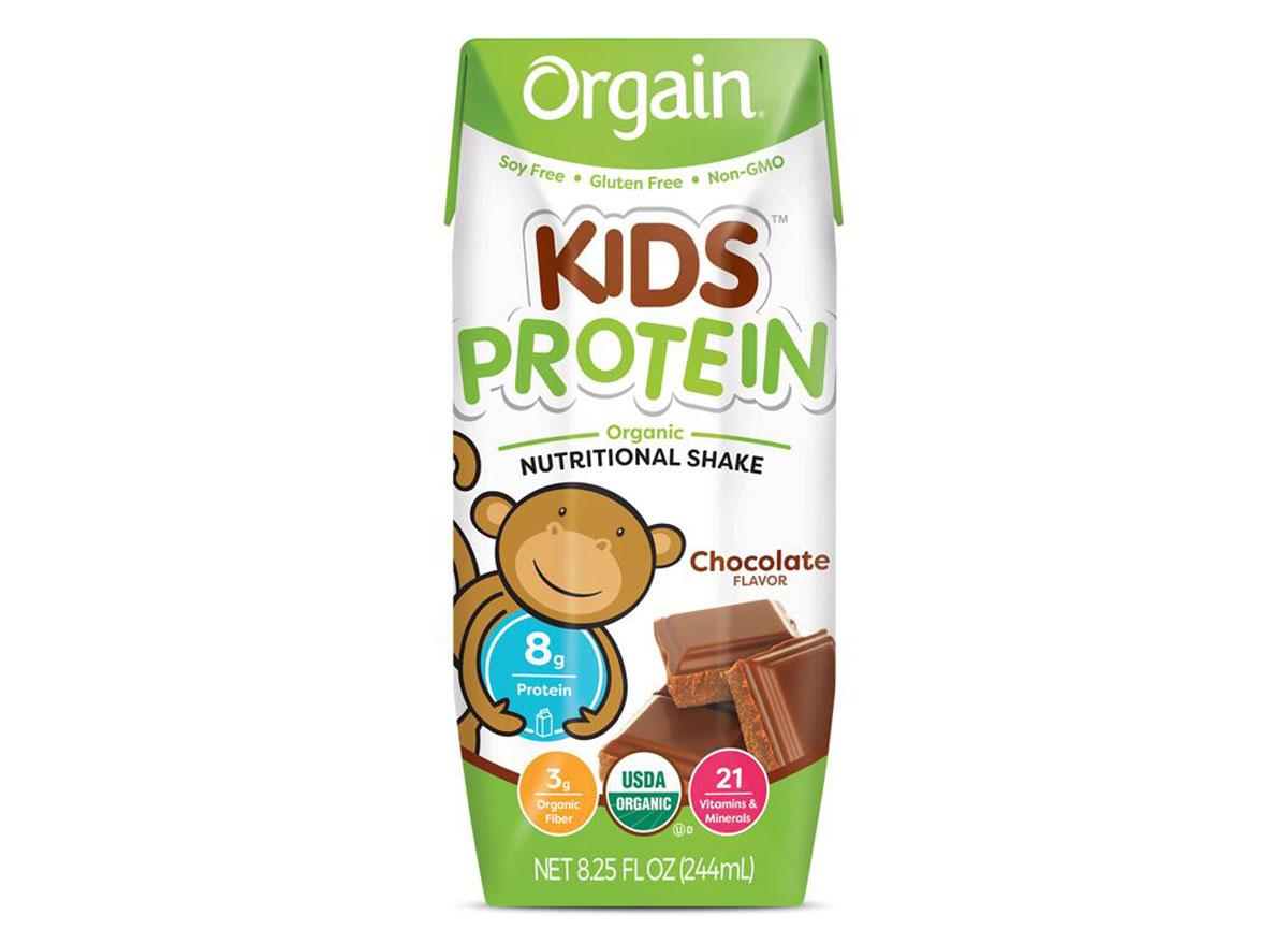 orgain kids protein shake