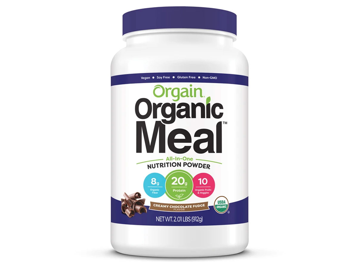orgain organic meal