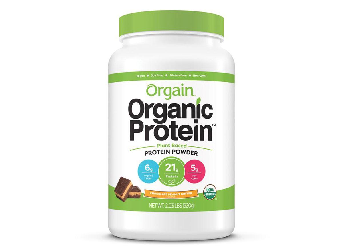 orgain organic peanut butter powder