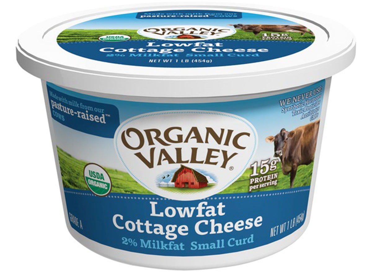 organic valley cottage cheese
