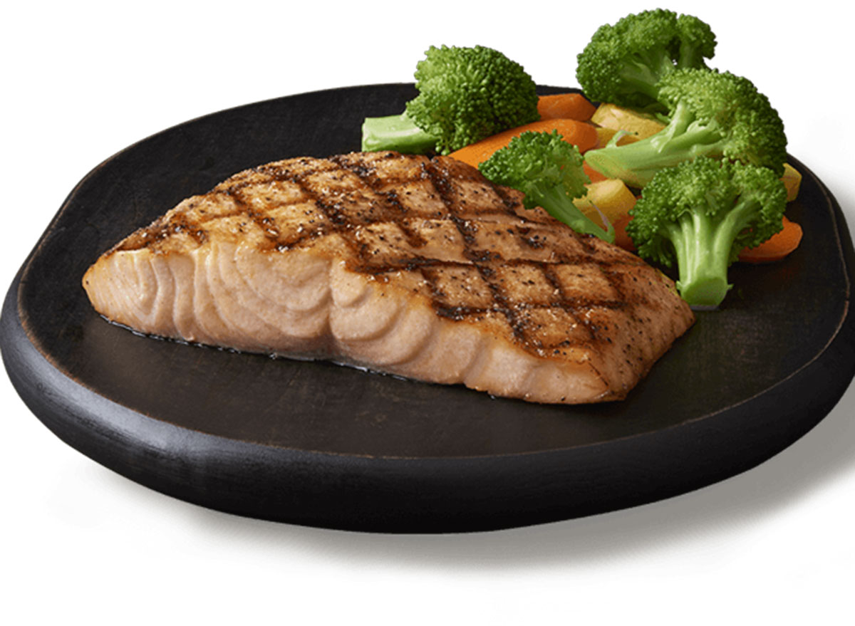 outback steak grilled salmon