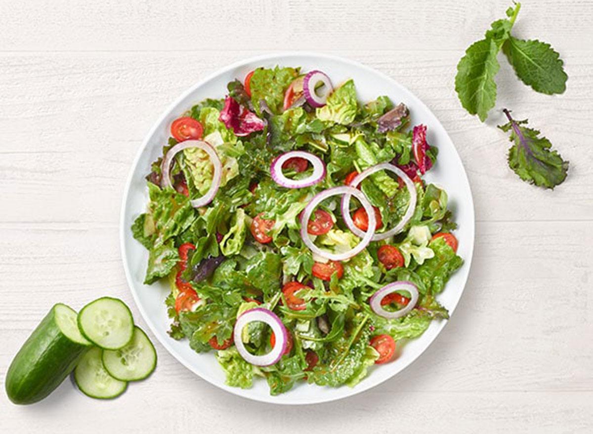 panera custom salad