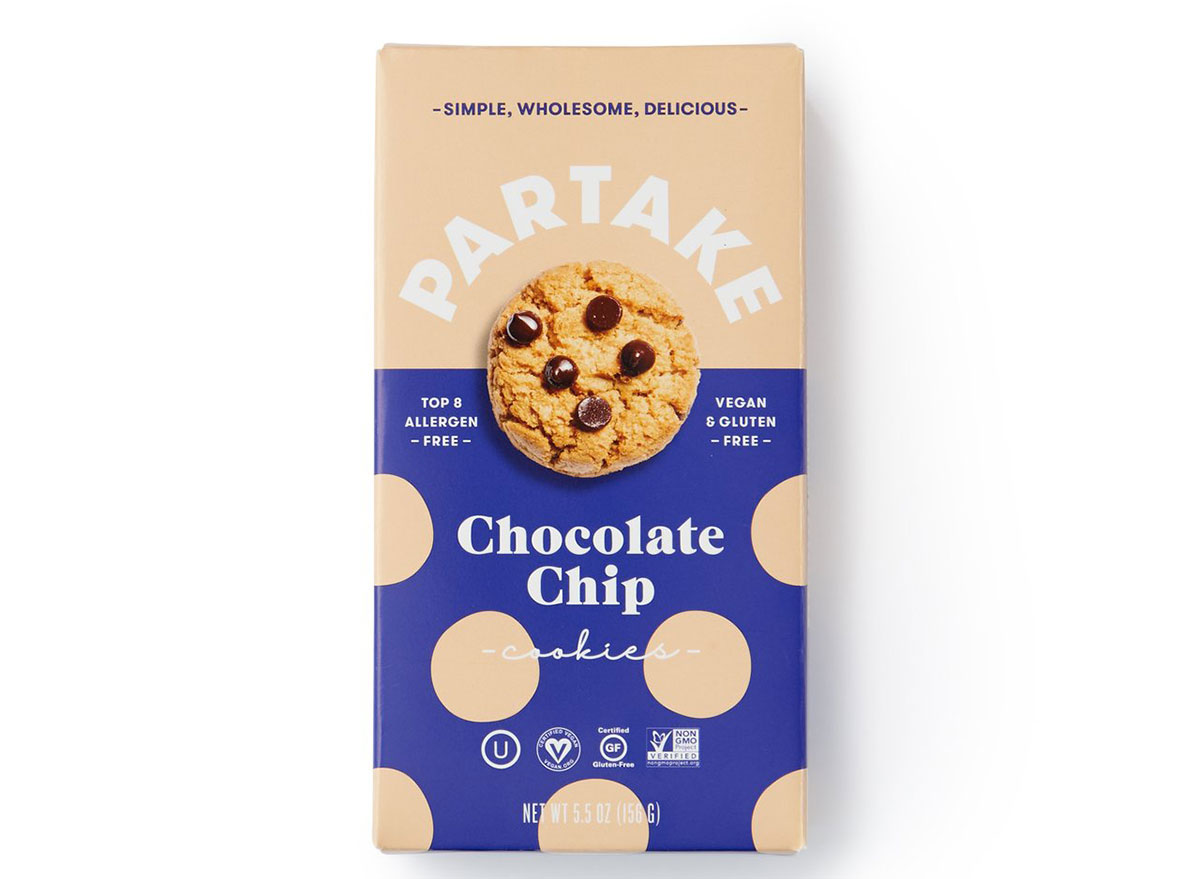 partake chocolate chip cookies