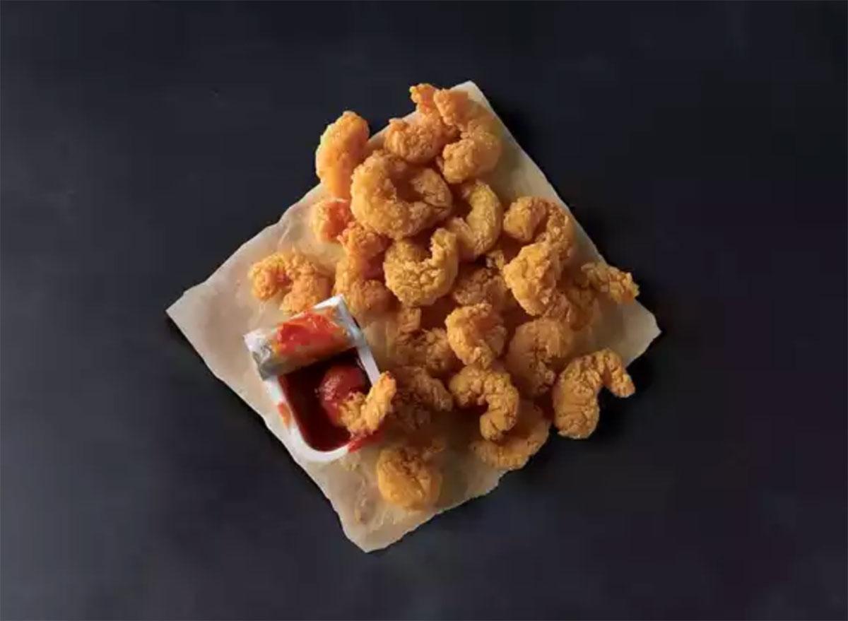 popeyes popcorn shrimp