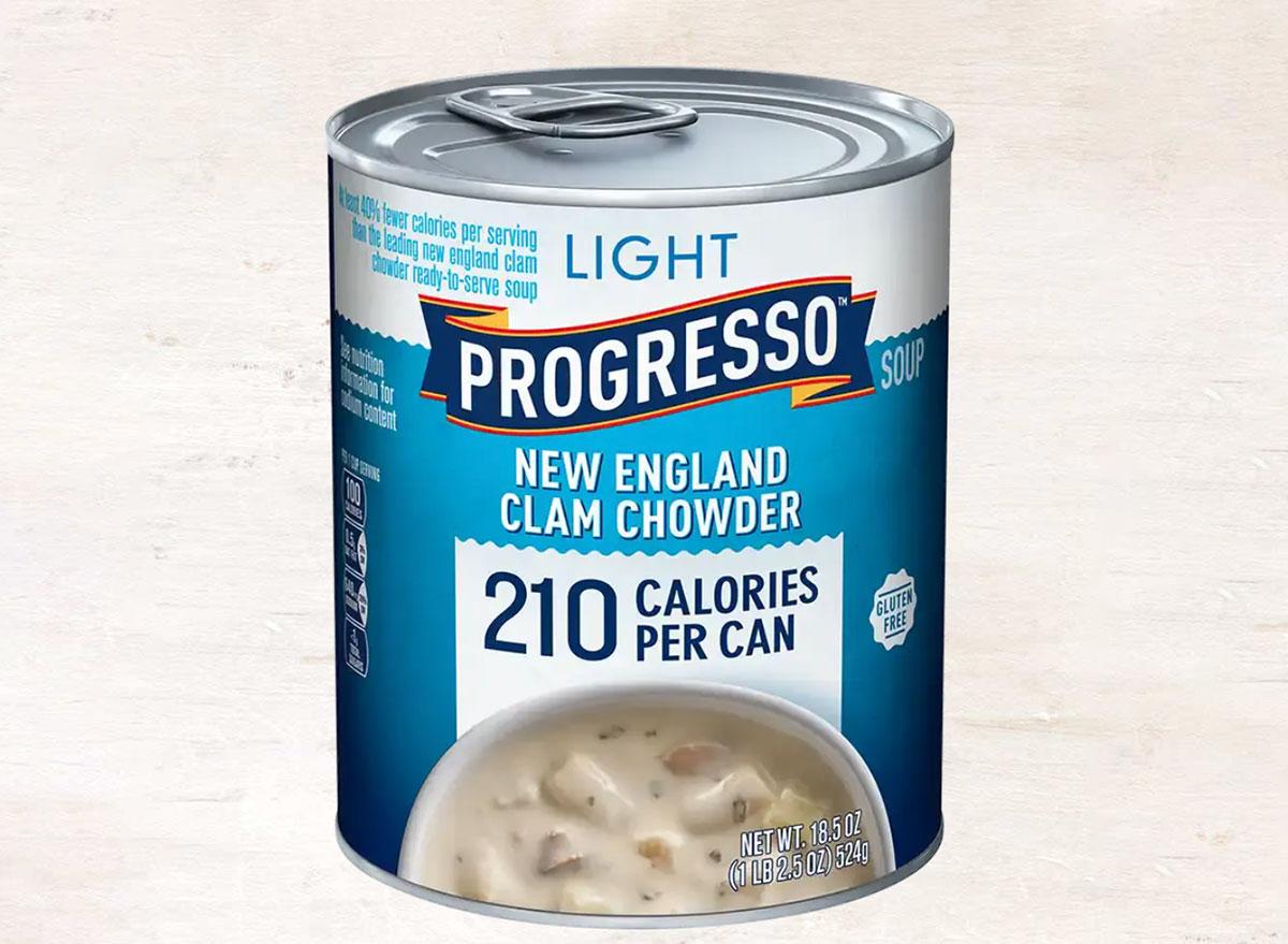 progresso new england clam chowder