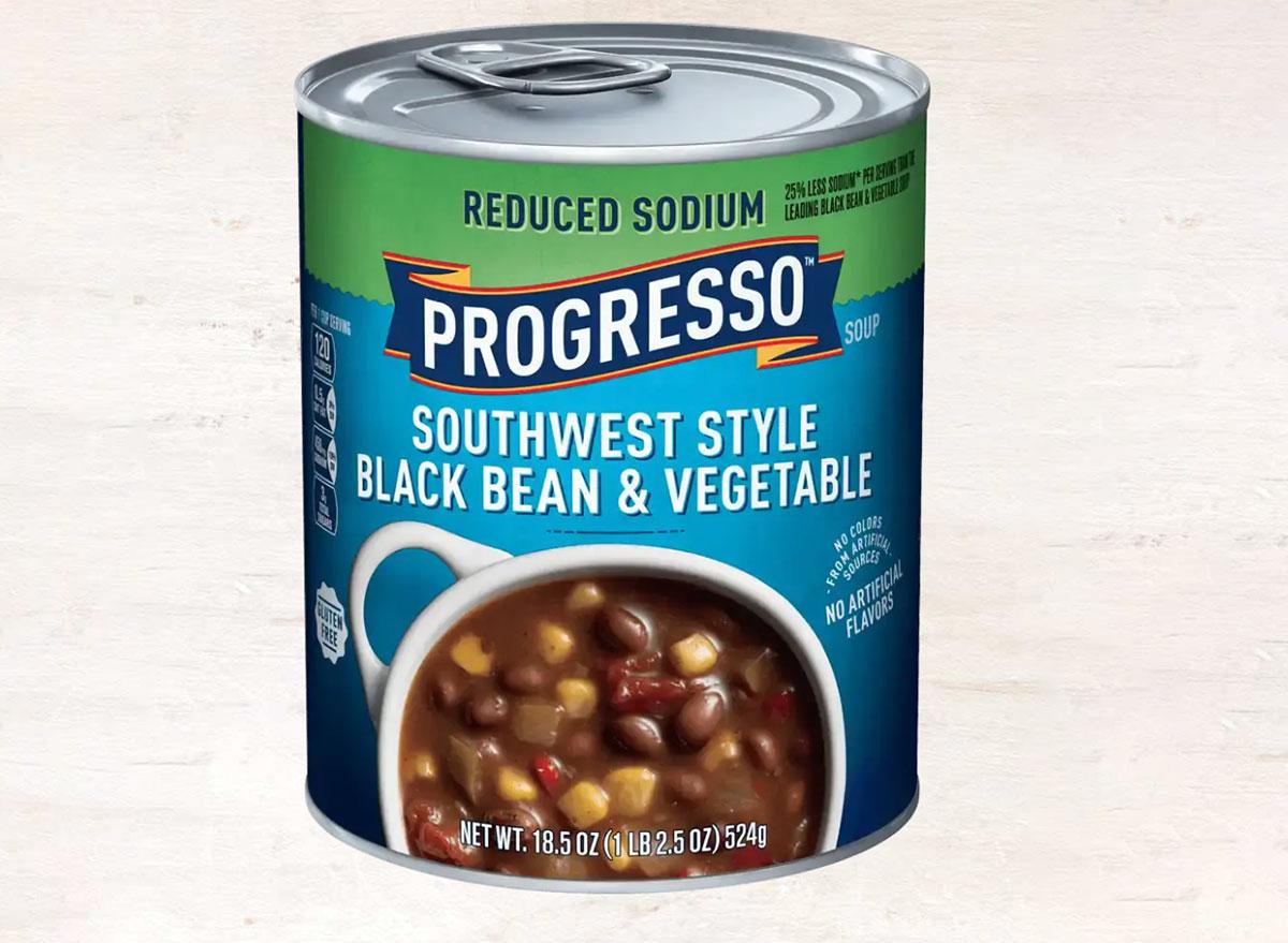 progresso southwest style black bean vegetable