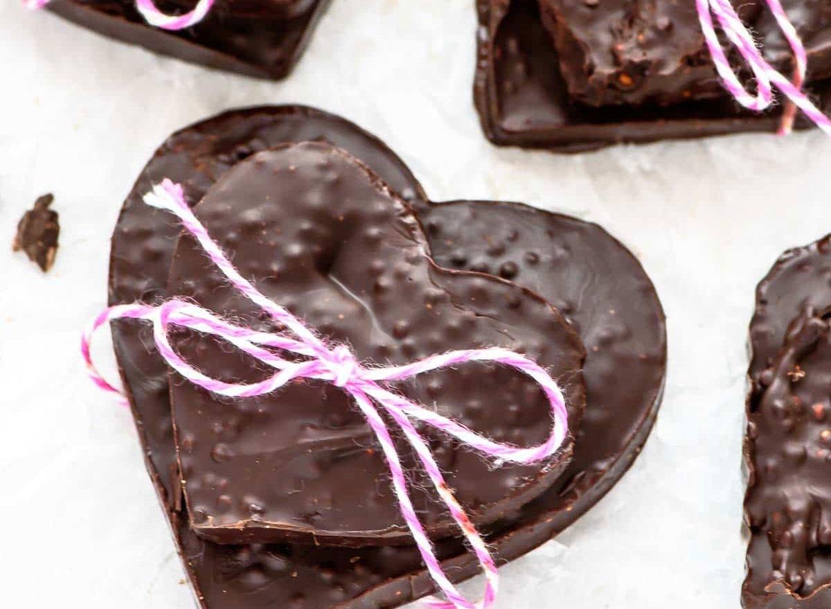quinoa chocolate bark
