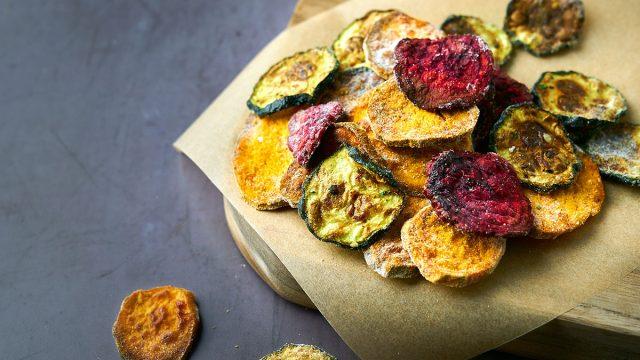 ranch veggie air fryer chips